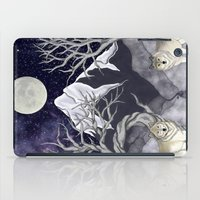 guardians iPad Cases featuring Guardians by Yoly B. / Faythsrequiem