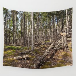 acadian woods Wall Tapestry