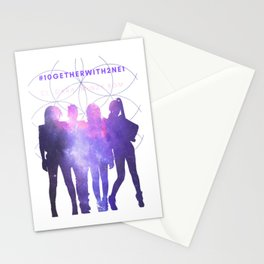 10GETHER WITH 2NE1 - Galaxy Version Stationery Cards
