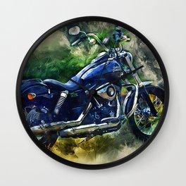 Harley Wall Clock
