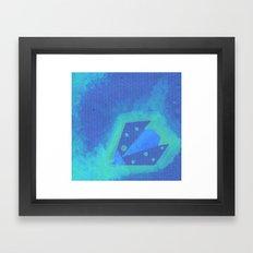 Ladybird Origami 5 Framed Art Print
