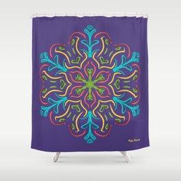 Llegó la Primavera (Violeta) Shower Curtain