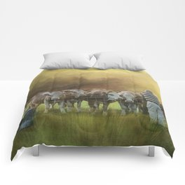 The Cow Whisperer Comforters
