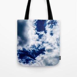 Searching Through the Clouds Tote Bag