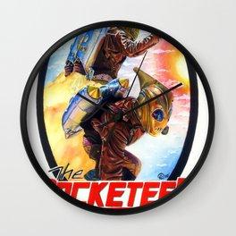 Rocketeer  Wall Clock