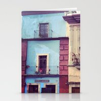 mexican Stationery Cards featuring Mexican houses by Olivier P.