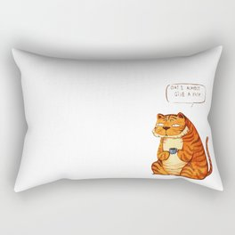 Mr Tiger Rectangular Pillow