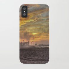 Orange Sky Slim Case iPhone X