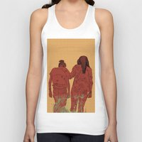 girls Tank Tops featuring Girls by Nahal