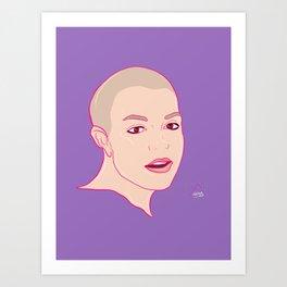 BRIT BUZZED ICONIC   Art Print