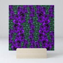 life in jungle so beautiful filled of ornate flowers Mini Art Print