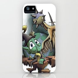 Halo the Guardian Imp iPhone Case