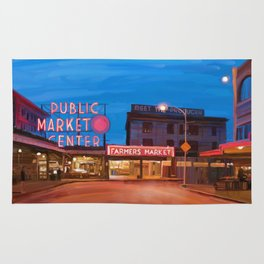 Pike Place Market Rug
