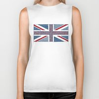 uk Biker Tanks featuring Lovely UK by Anita Ivancenko
