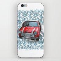 mini iPhone & iPod Skins featuring Mini by Magdalena Almero