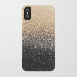 GOLD BLACK iPhone Case
