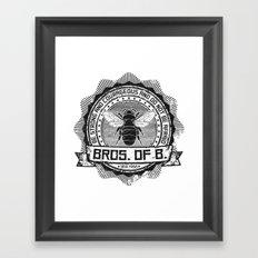 Bros. of B. Light Framed Art Print