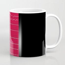"""Van Halen's """"Eruption"""" Coffee Mug"""