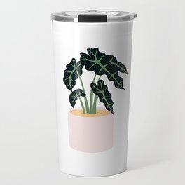 Elephent Ear Plant Travel Mug