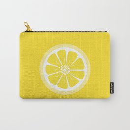 Lemon Fruit Slice Summer Fun Carry-All Pouch