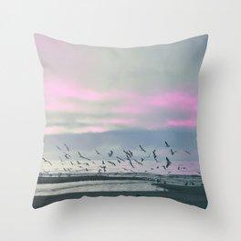 The Seagulls 3 Throw Pillow