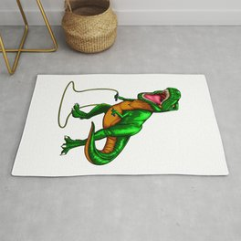 Dinosaur T Rex Jump Rope Rug