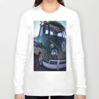 vw Long Sleeve T-shirts featuring vintage vw by Joedunnz