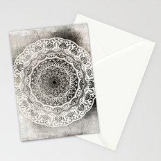DESERT FLOWER MANDALA Stationery Cards