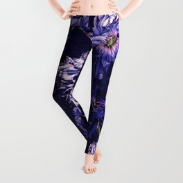 Night Garden XXVIII Leggings