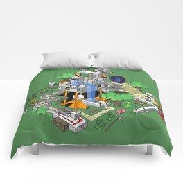 Mine City Comforters