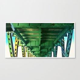 Tobin Bridge - North Bound Canvas Print
