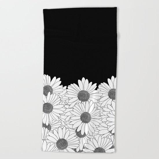 Daisy Boarder Beach Towel
