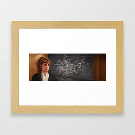 Interior Lucy Framed Art Print