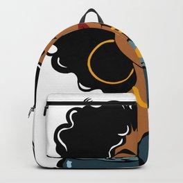 Black Queen Black Girl Magic Black Woman Backpack