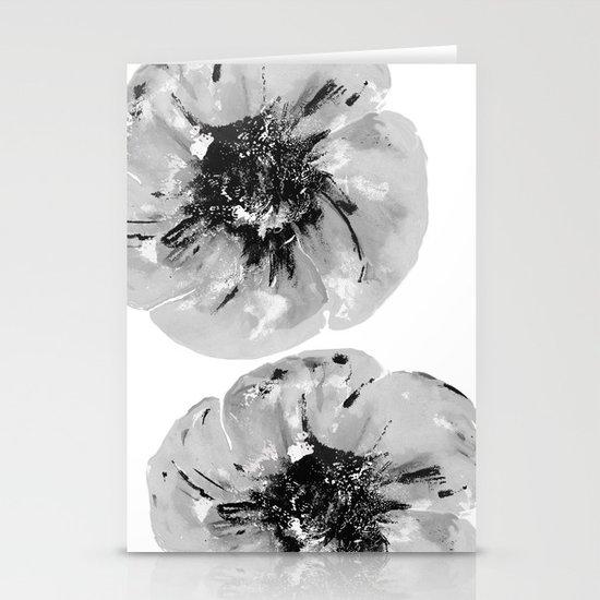 Graphic Poppy Stationery Cards