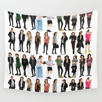 harry styles Wall Tapestries featuring 21 Harry Styles by justsomestuff