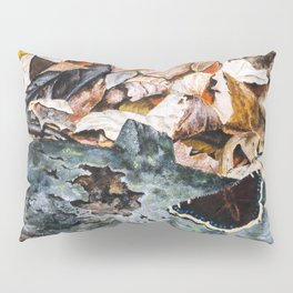 Mourning Cloak Butterfly of the Woods by Teresa Thompson Pillow Sham