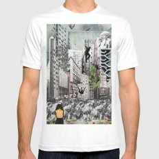 All is Lost Mens Fitted Tee White SMALL