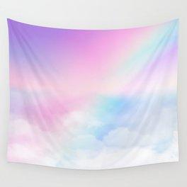 Pretty Rainbow Wall Tapestry