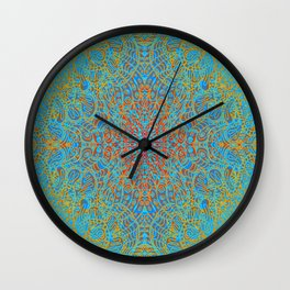 Mehndi Ethnic Style G368 Wall Clock