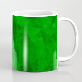 Emerald Fragments Coffee Mug