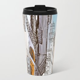 Sketches from Italy - Florence Metal Travel Mug
