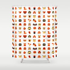 The Boys Are Back In Town Shower Curtain