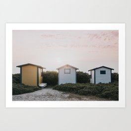 Summer at the beach II - Landscape and Nature Photography Art Print