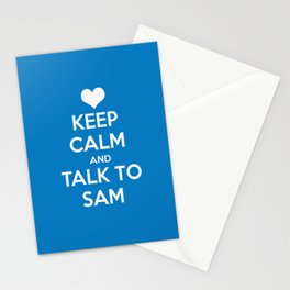 Seriously, talk to Sam! Stationery Cards