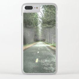 One Eye Sees, The Other Feels Clear iPhone Case
