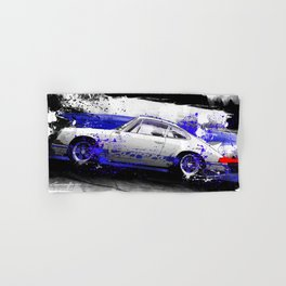 PORSCHE Carrera RS 1972 Hand & Bath Towel