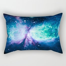A Star is BORN Violet Seafoam Midnight Teal Rectangular Pillow
