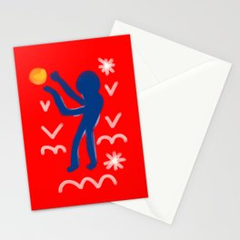 Higher than the sun Stationery Cards