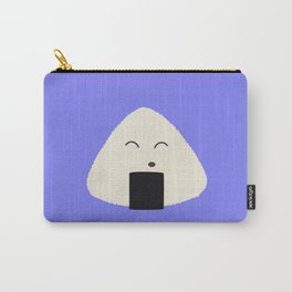 Cute onigiri rice face Carry-All Pouch